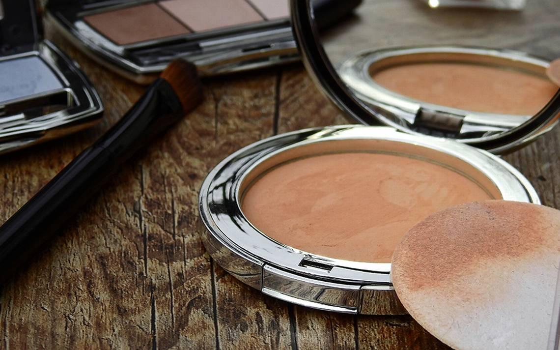 maquillaje con bacterias